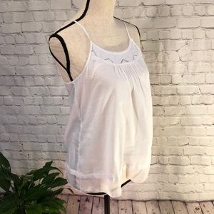 Aerie White Tank Camisole Size XS